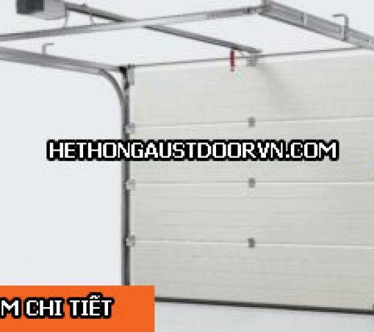 Cửa Cuốn Trượt Trần Cho Gara Austdoor Overhead