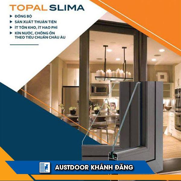 Cửa nhôm cao cấp Topal Slima